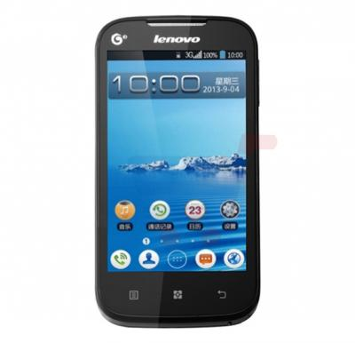 Lenovo A298 3G Smartphone,Android OS,512MB RAM and 512MB Storage,Spreadtrum SC8810T Single core 1GHz-Black