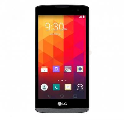 LG Leon 4G Smartphone, 4.5 Inch Display, Android OS, 1GB RAM, 8GB Storage, Dual Camera - Black