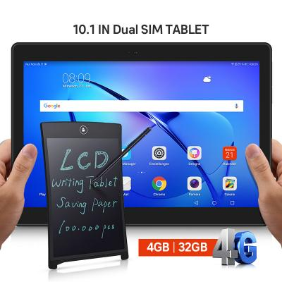 2 in 1 Combo Offer I-Touch S1003 10.1 inch 4G Dual Sim 4GB RAM 32GB Storage Tablet, Assorted And LCD Writing Tablet 8.5 Inch