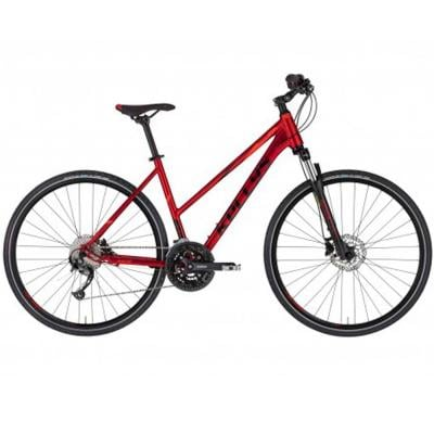 Kellys Hybrid Bike Dark Red Small Size, Pheebe 30