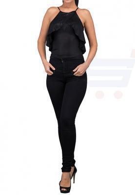 TFNC London Zaza Top Body and Cropped Black - ANT 44140 - L