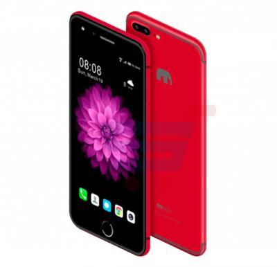 Mione X8 Pro Smartphone 4G,Android 6.0, 6 inch IPS HD Display,3GB RAM,32GB Storage,Dual Sim,Dual Camera-RED