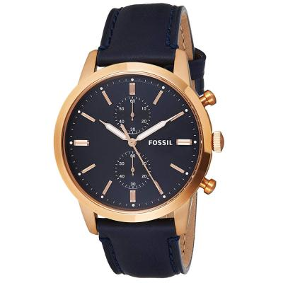 Fossil Analog Blue Dial Gents Watch, FS5436