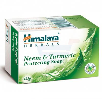 Himalaya Neem & Turmeric Soap 125 GM - NHS0404