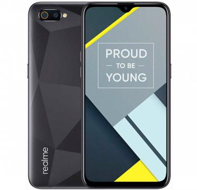 Realme C2 Dual SIM 2GB RAM 32GB Storage 4G LTE, Diamond Black
