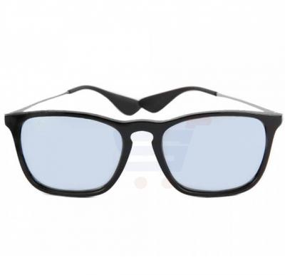 0c195fcddd Ray-Ban Rectangular Black Frame   Silver Mirrored Sunglasses For Unisex -  RB4187-601