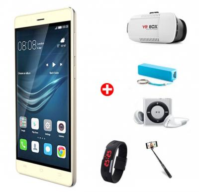 Bundle Offer! Kagoo Y999 Smartphone Dual Core 1.2GHz Android 4.4.2 ,1GB RAM,4GB Storage,Dual Camera-Gold+VR Box+ MP3 Player + Wrist Band Watch + Selfie Stick +Power Bank FREE!!