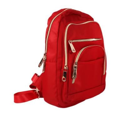 Fashionable Backpack For Women Red