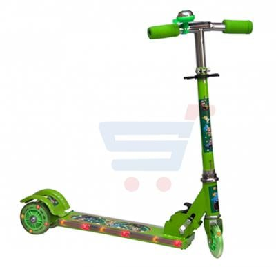 Kids 3 Wheel Scooter With Music And LED Light SC-5319-Green