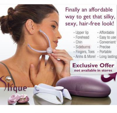 Slique Spa Quality Face and Body Hair Threading System