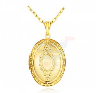 18K Gold Plated Couple Pendants For Men and Women