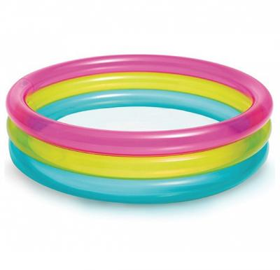 Intex Rainbow Baby Pool,  Ages 1-3, 57104
