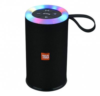 T&G Mini Bluetooth Speaker TG512 Led Light Stereo Subwoofer Outdoor Portable Wireless Speakers HiFi Loudspeaker Waterproof Soundbox