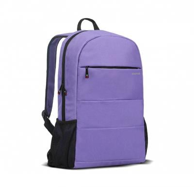 Promate Travel Laptop Backpack, Lightweight Water-Resistant Computer Bag, Alpha-BP Purple