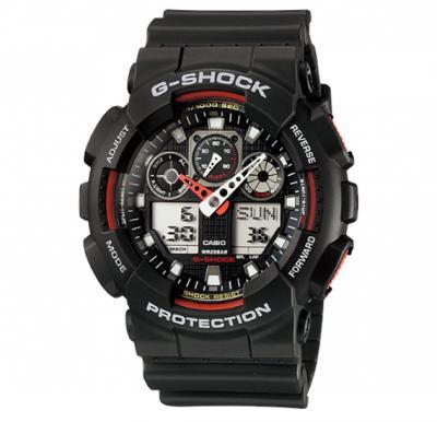Casio G-shock Digital Analog Watch , GA-100-1A4DR