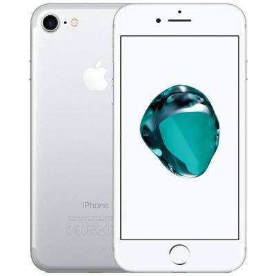 Apple iPhone 7 Smartphone, 4.7 Inch, 2GB RAM, 128GB Storage, Activated - Silver