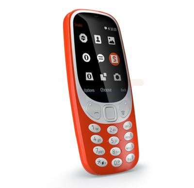 H Mobile 3310, 2G Dual Sim, 2 MP Camera, Keypad Phone, Red