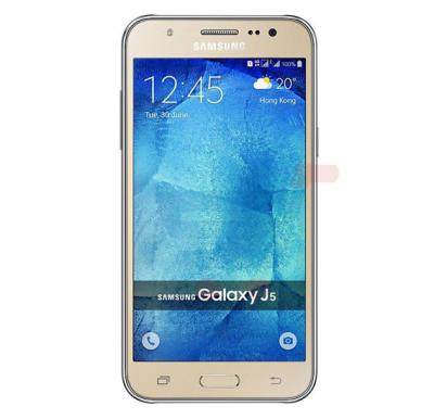 Samsung Galaxy J500H,3G,Android OS,5.0 inch Display,Dual SIM,Dual Camera,Quad Core 1.2GHz Processor-Gold