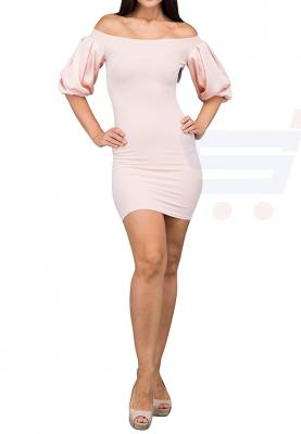TFNC London Karel Midi Formal Dress Nude - ANT 50770 - L