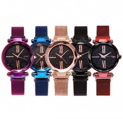 5 in 1 DVANS Stylish Watch For Women Assorted Colors