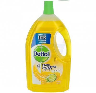 Dettol Healthy Home Lemon Fragrance All Purpose 4 in 1 Multi Action Cleaner 3L