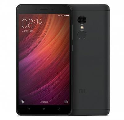 Xiaomi Redmi Note 4, Dual SIM, 32GB, 3GB RAM, 4G LTE, Grey (Global Version)