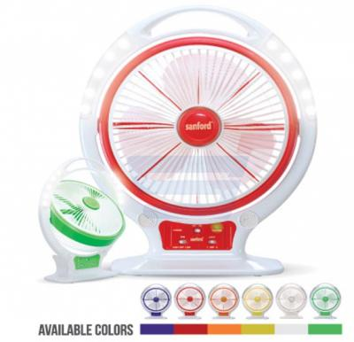 Sanford Rechargeable Fan With Remote SF962RTF BS