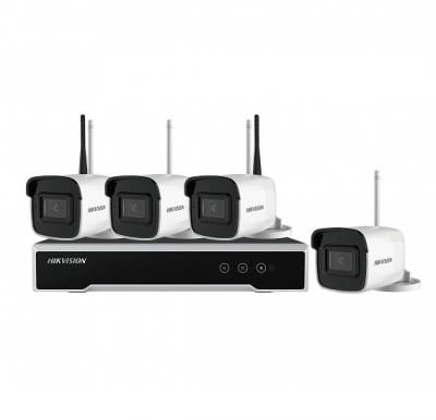 hikvision wifi kit NK44W0H-1T(WD)(4* 4M Bullet + 1* 4-ch NVR + 1TB HDD