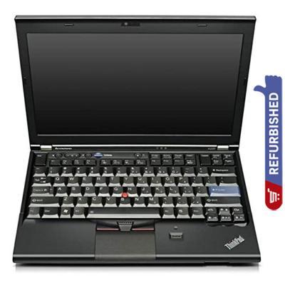 Lenovo ThinkPad X220 12.5 inch HD LED Display i3 Processor 4GB RAM 500GB Storage, Win10, Refurbished
