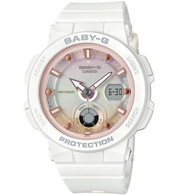 Casio Baby-g Analog-Digital Multi-Colour Dial Womens Watch - BGA-250-7A2DR