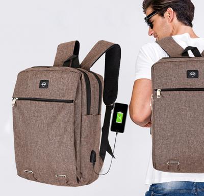 Okko Casual Backpack - 16 Inch, Coffee,OK33804