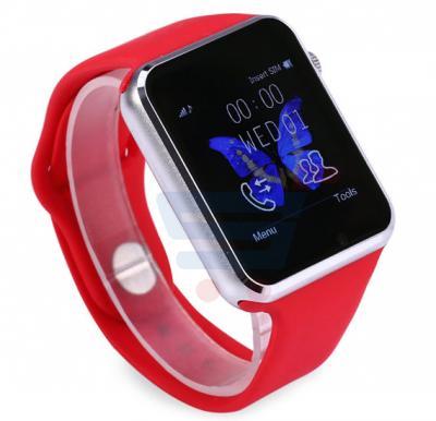 Enet W8 Smart Watch - Red