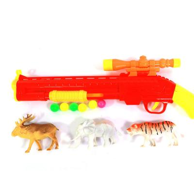 UPF Shoot Force Hunter Toy with dummy animals S900-1