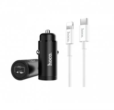 Hoco Z19 Shrewd charge PD Car Charger Set