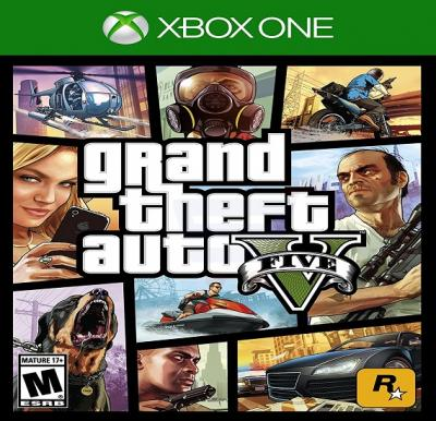 Rockstar Games Grand Theft Auto V For Xbox One