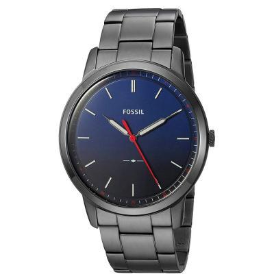 Fossil Gunmetal Dial Minimalist Gents watch, FS5377
