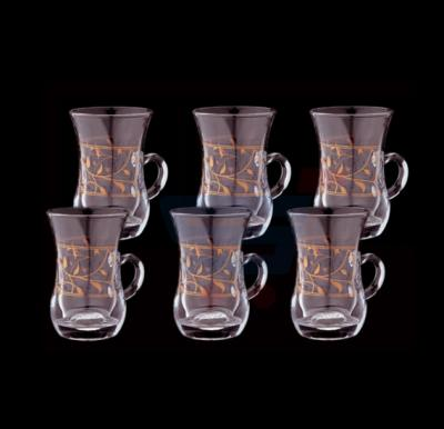 Royalford 6 Pcs Lara Royal Istikana 4oz - RF7939