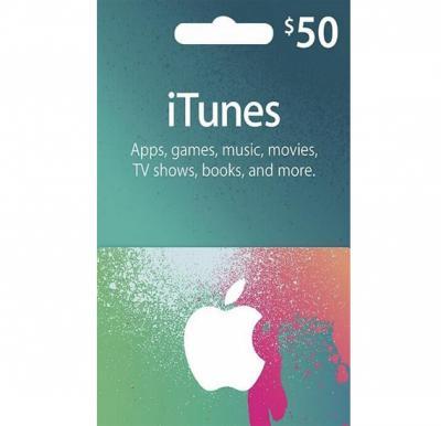 Apple iTunes 50$