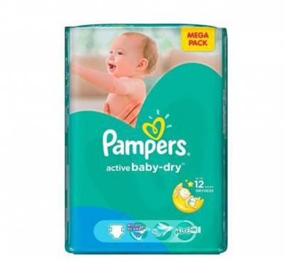 Pampers Active Baby  CP No.4 Maxi (7-14kg) 96pcs