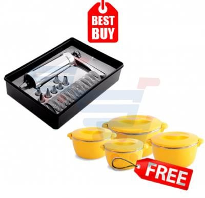 Combo Offer! Epsilon Nool Puttu Maker EN3868 & Get Epsilon Food Warmer, 4pieces Set (1litre, 2 litre, 4 litre, and 6 litre) FREE