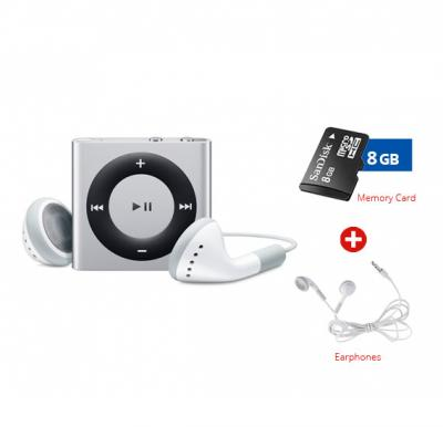MP3 Player,and get SanDisk Memory Card, 8 GB + Earphone Free!