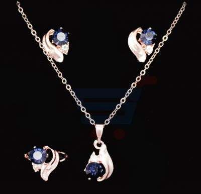 A&H 18K Gold Plated Jewelry Set  - 1A120