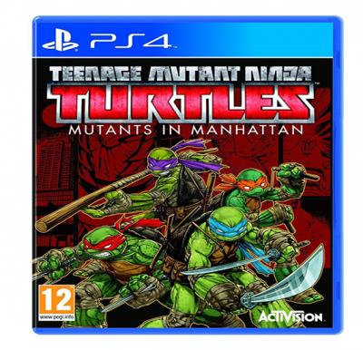 Activision Teenage Mutant Ninja Turtles Mutants in Manhattan For PS4