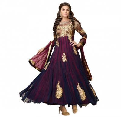 Fiona 12004 Georgette With Heavy Embroidery Designer Anarkali Dress