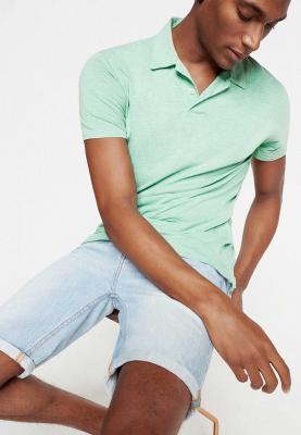 Springfield Polo Fancy T-Shirt Light Green, Size S