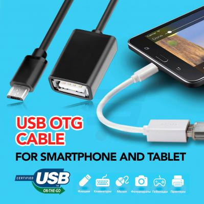 USB OTG Cable, For Smartphone And Tablet