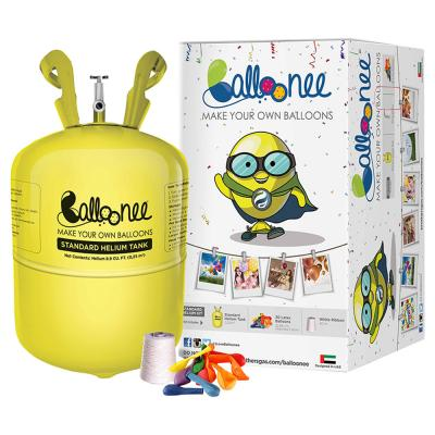 Balloonee Standard Disposable Helium Party Kit