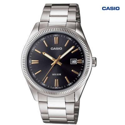 Casio LTP-1302D-1A2VDF Analog Watch For Women, Silver