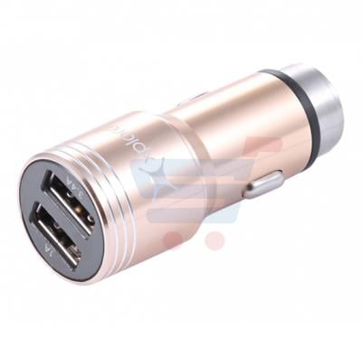 Xplore Dual USB Car Charger with Aluminum Casing CCA7