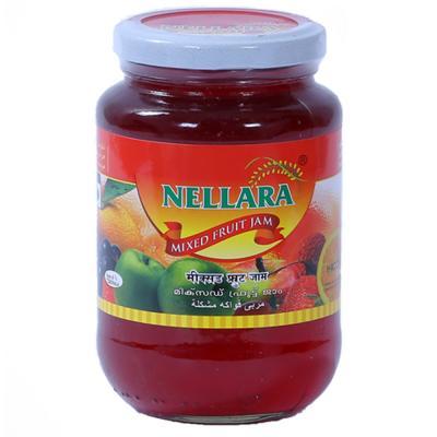Nellara Mixed Fruit Jam 500 Gram Bottle